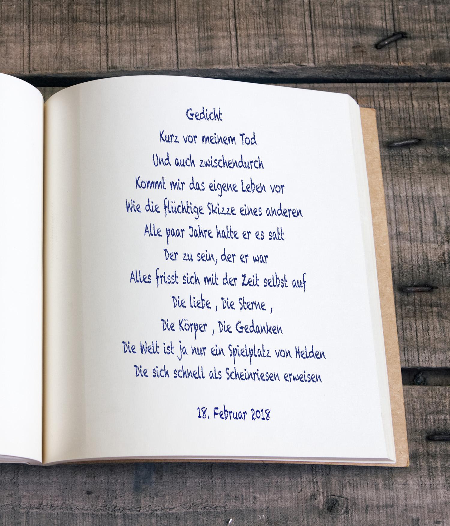 Gerald Uhligmemorial Lyrik